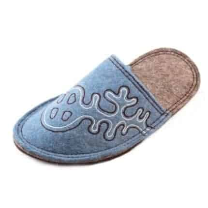 blue lung felt slipper woolenstocks-3