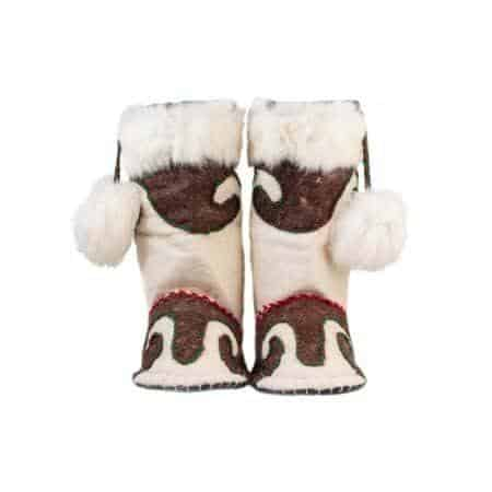 brown cow woogo felt boot woolenstocks