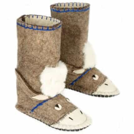 brown donkey felt boot woolenstocks-1