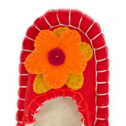 ferrari flower huga felt slipper woolenstocks-6