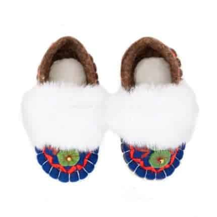 jade navy huga felt slipper woolenstocks-4