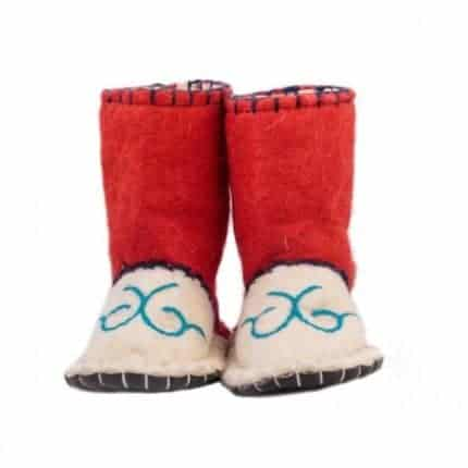 little carmine woogo felt boot woolenstocks