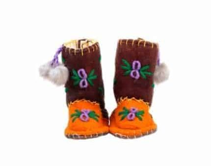 little tiger spice woogo felt boot woolenstocks