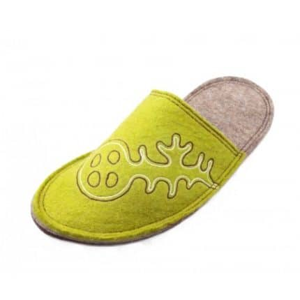 olive lung felt slipper woolenstocks-2