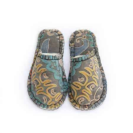 goldendrod tribal lung slipper woolenstocks