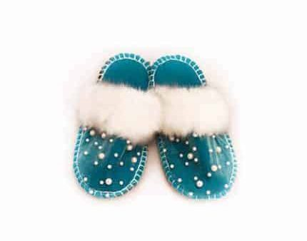 perly kosy felt slipper woolenstocks
