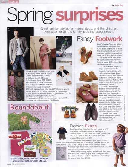woolensotcks in the press ramworld spring surprises