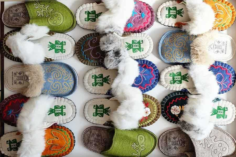 wool slippers and boots by woolenstocks
