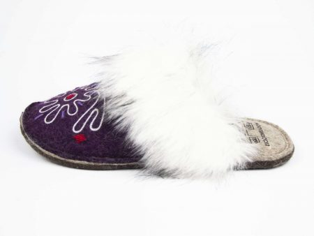 kosy burgany flower slipper woolenstocks 01
