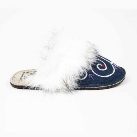 kosy tribale blue slipper woolenstocks 04