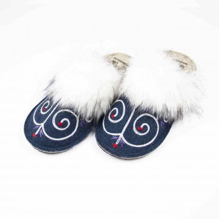 kosy tribale blue slipper woolenstocks 05